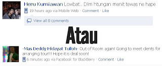 Update Status di Facebook Via Blog / Website, Via Hati atau Via Terserah Kamu