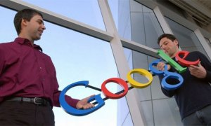 Larry Page dan Sergey Brin, penemu google