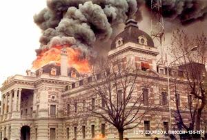 Incendio Gobernación Año 1974