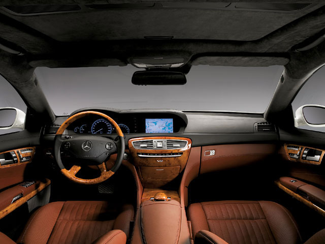 Interior Pictures of 2011 Mercedes Benz CLS 63 AMG Specifications Pictures