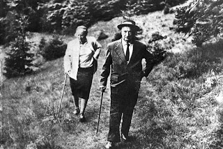 Martin and Elfriede Heidegger