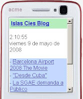 web movil