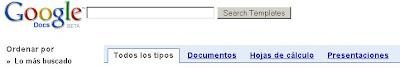 plantillas en google docs