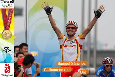 Samuel Sanchez - Ciclismo - Pekín - Beijing 2008