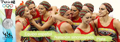 equipo español de natacion sincronizada - pekin - beijing 2008