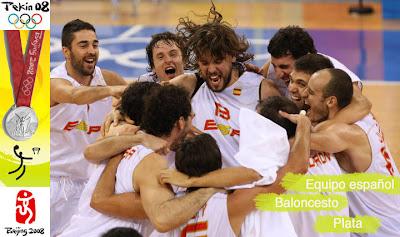 equipo espanol - baloncesto - pekin - beijing 2008