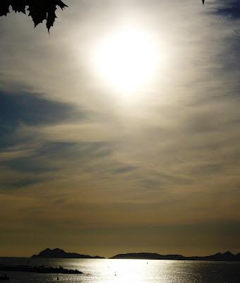 Islas Cies en la Ria de Vigo