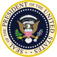 Escudo presidencial de los Estados Unidos de America