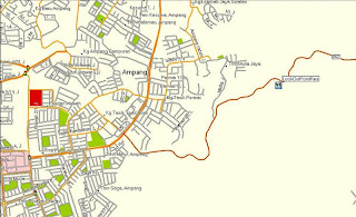map of lookout point, cheras
