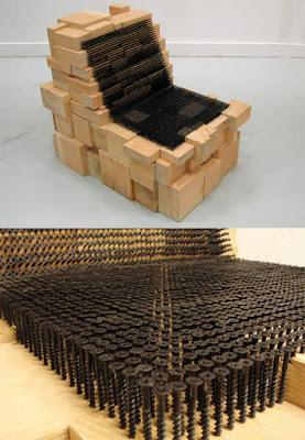 11 muebles creativos hechos de materiales reciclables for Muebles con cosas recicladas