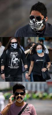 Gripe porcina mascarillas