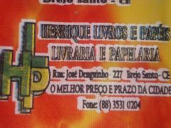 HENRIQUE LIVROS E PAPÉIS