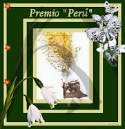 Este blog tiene el premio Perú.