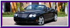 2008 Black Bentley GTC Convertible