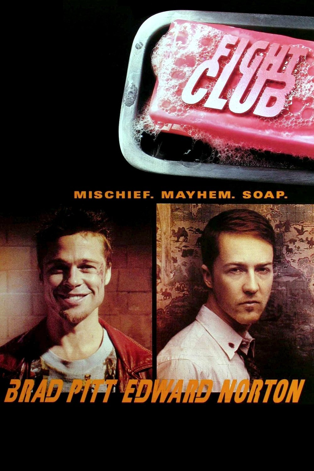 The Movies Database: [Posters] Fight Club (1999)