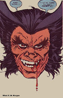Wolverine looking evil as shit