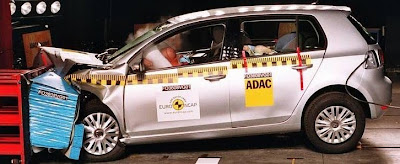 Vw Golf Euro NCAP Crashtest