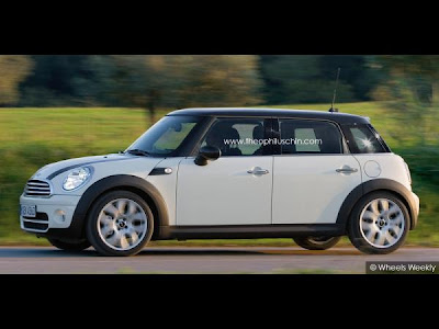5-door hatchback Mini