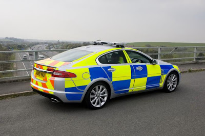 Jaguar XF is ready for British police