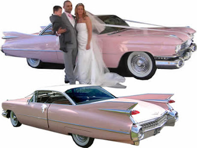 wedding cars ping color