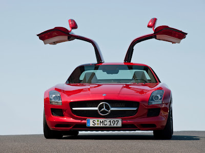Open Road Acura on Benz Sls Amg Interior Exterior And Open Door Pictures   Garage Car