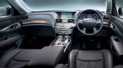 nissan fuga interior photos