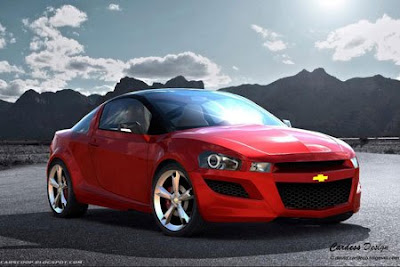 Concept Chevrolet Cobalt Coupe  Cardoso David presents his vision of future Cobalt coupe