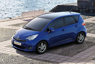 Toyota unveils new minivan: 2012 Verso-S is to beat the competition