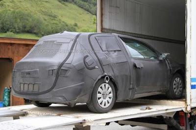 Spyshots : Seat Leon 2012 observed on tests