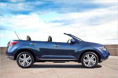 Nissan Murano Cross Cabriolet: Nissan shows open SUV