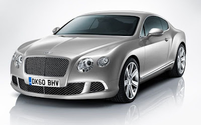 Declassified updated 2011 2012 Bentley Continental GT Coupe