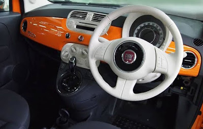 Fiat 500 Arancia : a special series for Japan - Orange Fiat 500