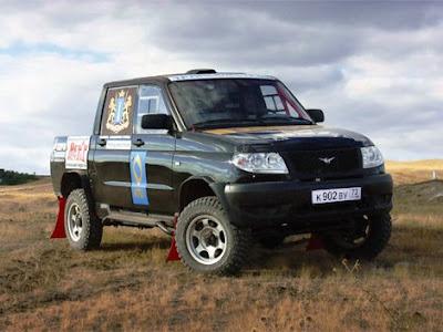 UAZ sent to the Silk Road, 190-horsepower pickup