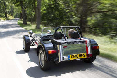 Limited series: Caterham Road Sports 125 Monaco Special Edition