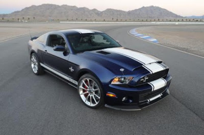 Ford Shelby GT500 Super Snake muscle car