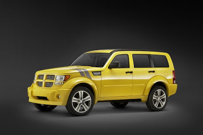 2012 Model Dodge Nitro Facelift