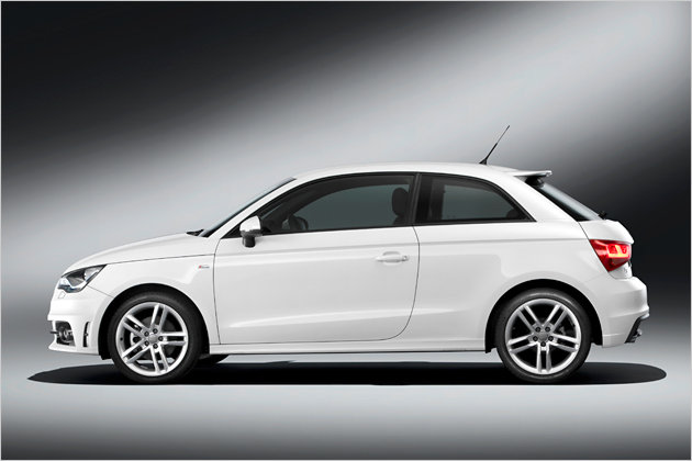 2011 audi a1 1 4 tfsi top version of the series with 185 for Garage audi a1