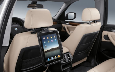 BMW accessory offers iPad