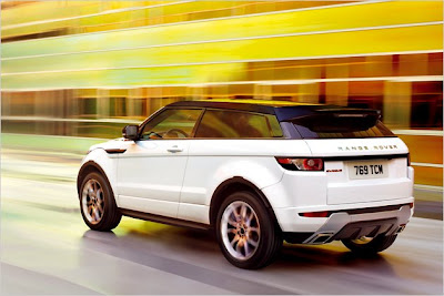 Range Rover evoque: New pictures