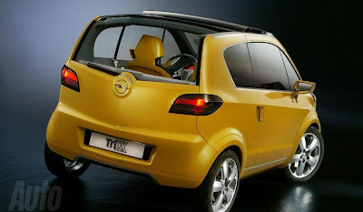 The new Opel and Vauxhall urban - 2011 version micro car of Corsa