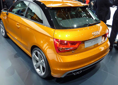A1 Audi 1.4 T S-Line, the color of gold
