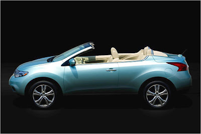 Nissan Murano Cross Cabriolet first photo - Premiere at Los Angeles Auto Show