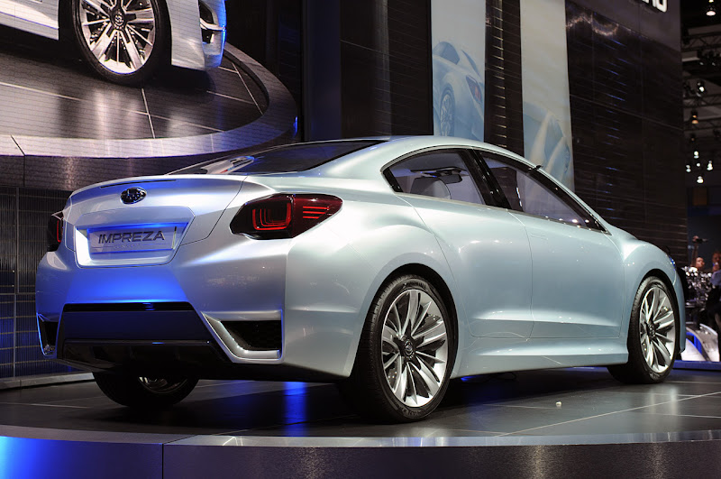 Subaru Impreza Concept Design first live photos