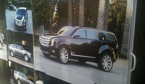 Is this the new Cadillac Escalade 2011 2012 ?