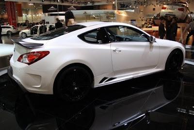 Mansory tuned Hyundai Genesis Coupe