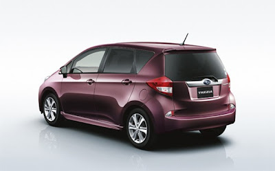 Subaru introduced the 2011 Trezia, a new small MPV