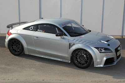 Audi introduced the TT GT4, so far as prototype