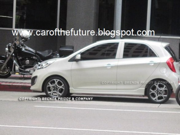 Kia Picanto 2011 2 Car reviews:Spyshots : 2011 Kia Picanto   Naked