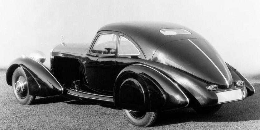 Mercedes benz 540 k autobahnkurier 1938 model old car for Mercedes benz old models