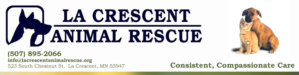 La Crescent Animal Rescue News